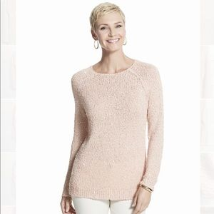 Chico's   Sequin Claire Knit Sweater